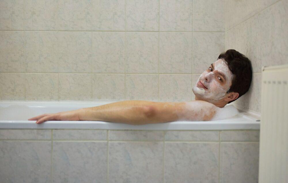 gel douche contre l'acné