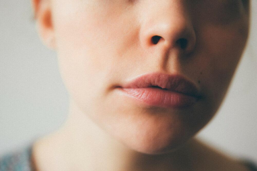 lèvre supérieur épilé